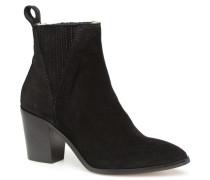 Mannish Stiefeletten & Boots in schwarz