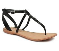 Isabel leather sandal Sandalen in schwarz