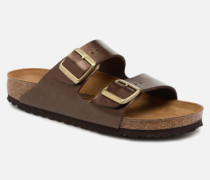 Arizona Cuir Soft Footbed Clogs & Pantoletten in braun