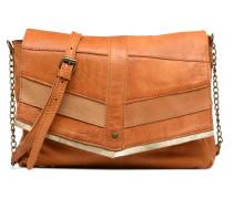 Frances Leather L Crossbody Handtasche in braun