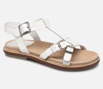 MEENWICH Sandalen in weiß