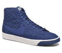 Wmns Blazer Mid Prm Se Sneaker in blau
