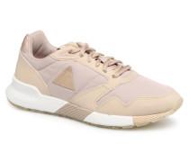 Omega X W Metallic Sneaker in beige
