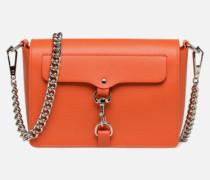 MAB FLAP CROSSBODY Handtasche in orange