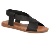 MALU LEATHER SANDAL Sandalen in schwarz