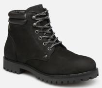 Jack & Jones JFWSTOKE NUBUCK BOOT NOOS Stiefeletten Boots in schwarz