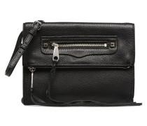 SMALL REGAN CLUTCH Handtasche in schwarz