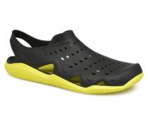 SwftwtrWaveM Sandalen in schwarz