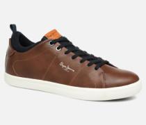 MARTON BASIC Sneaker in braun