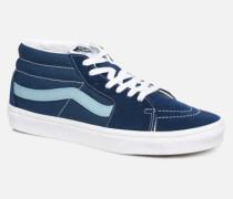 SK8 Mid Sneaker in blau