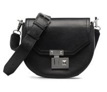 MEDIUM PARIS SADDLE BAG Handtasche in schwarz