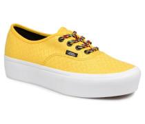UA Authentic Platform 2.0 Sneaker in gelb