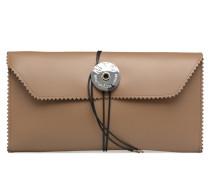 S54WF0017 Portemonnaies & Clutches für Taschen in braun