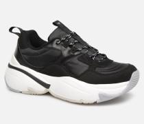 Aire NyloninSerraje Pu Sneaker in schwarz
