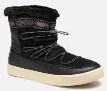 Alpine Stiefeletten & Boots in schwarz