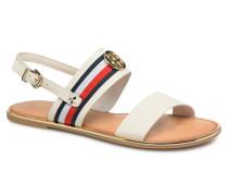 Nu pieds White Sandalen in weiß
