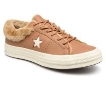 One Star Ox W Sneaker in braun