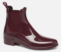 Warm Comfy Stiefeletten & Boots in weinrot