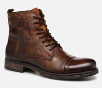 Jack & Jones JFWRUSSEL Stiefeletten Boots in braun