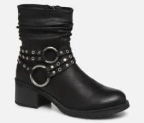 REINA 58607 Stiefeletten & Boots in schwarz