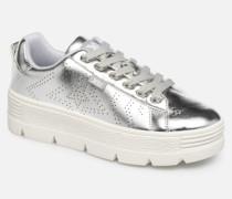 48101 Sneaker in silber