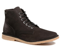 Jack & Jones JFW Bruce Suede Stiefeletten Boots in schwarz