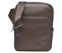 MEDIUM FLAT CROSSOVER BAG Herrentasche in braun