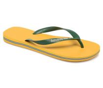 Brazil Logo H Zehensandalen in gelb
