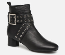 AYA BUCKLE L Stiefeletten & Boots in schwarz