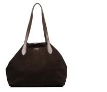 Sac Shopper Handtasche in braun