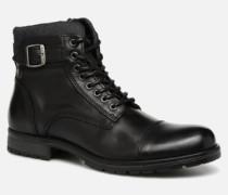 Jack & Jones JFWALBANY Stiefeletten Boots in schwarz