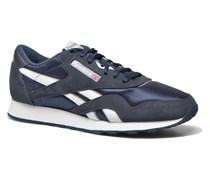 Classic Nylon Sneaker in blau