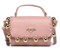 GOLDEN BALLS BAG Handtasche in rosa
