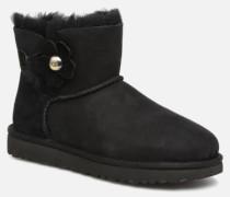 Mini Bailey Button Poppy Stiefeletten & Boots in schwarz