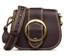 LENNOX BELT SADDLE Handtasche in weinrot