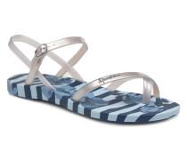 Fashion V Sandal Sandalen in blau