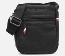 ESSENTIAL MINI REPORTER Herrentasche in schwarz