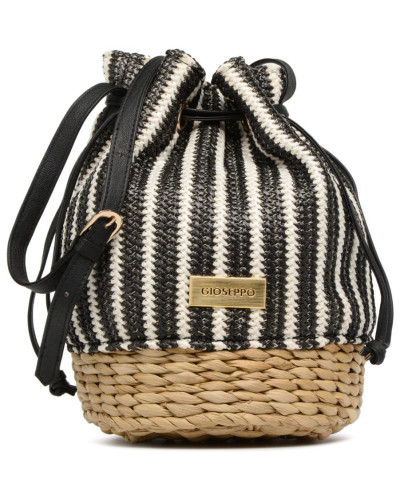 Gioseppo Damen Seau rayé Handtasche in schwarz Verkauf Mit Kreditkarte UDAXHpJ1gr