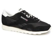 Classic Nylon Mesh Sneaker in schwarz