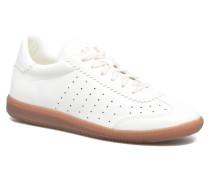 Trainee Lace Up Sneaker in weiß