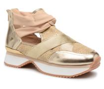 Daneor Sneaker in goldinbronze