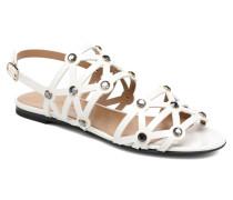 Sandales Strass Sandalen in weiß