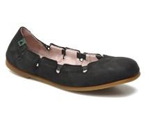 Croche N961 Ballerinas in schwarz