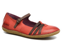 Hibou Ballerinas in rot