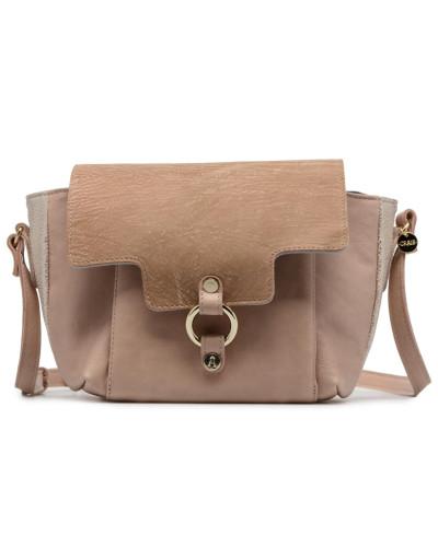 Video Réversible Cuir Handtasche in rosa