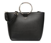 Keaton Tote Handtasche in schwarz