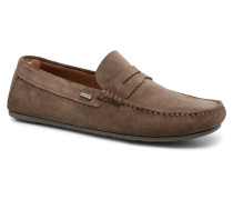 CLASSIC SUEDE PENNY LOAFER Slipper in braun