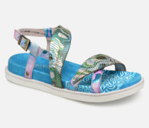 FAUCON 11 Sandalen in blau