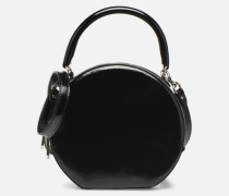 CIRCLE BAG CROSSBODY NAPLACK Handtasche in schwarz