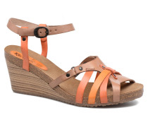 Split Sandalen in mehrfarbig